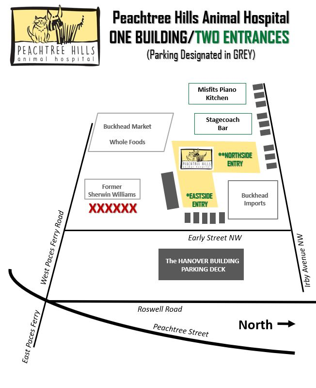 Parking Map July 2021
